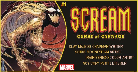 SCREAM CURSE OF CARNAGE #1 preview feature