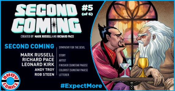 SECOND COMING #5 preview feature