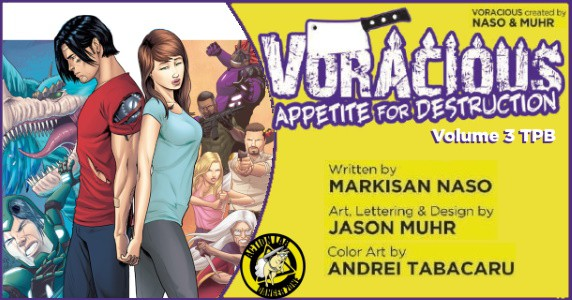 Voracious Appetite for Destrucion Vol. 3 TPB preview feature