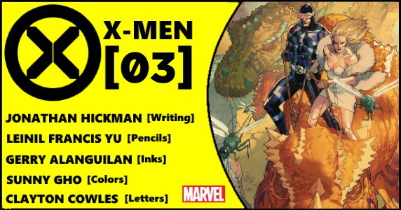 X-MEN #3 preview feature