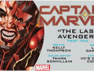 Captain Marvel #13 preview