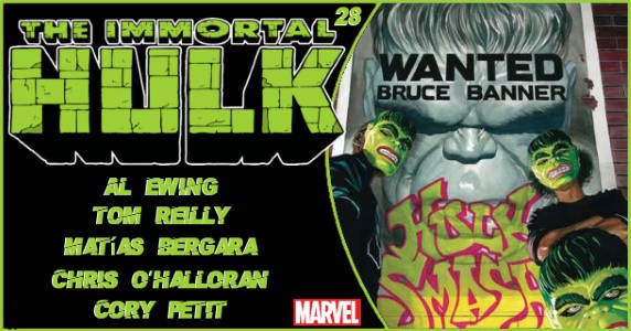 Immortal Hulk #2 preview feature