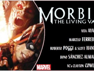 Morbius #2 preview feature