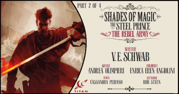 SHADES OF MAGIC The Steel Prince – The Rebel Army #2