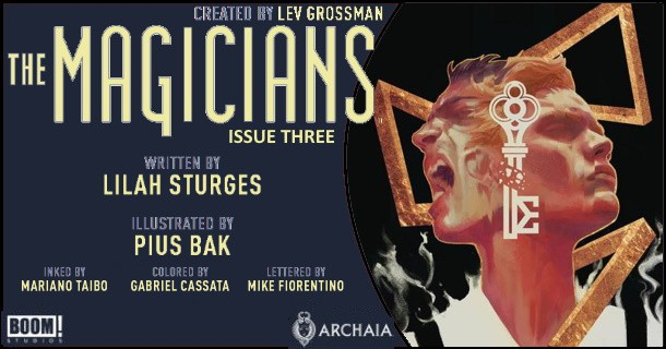 The Magicians #3 preview feature 1