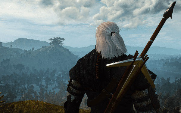 The Witcher aerondight