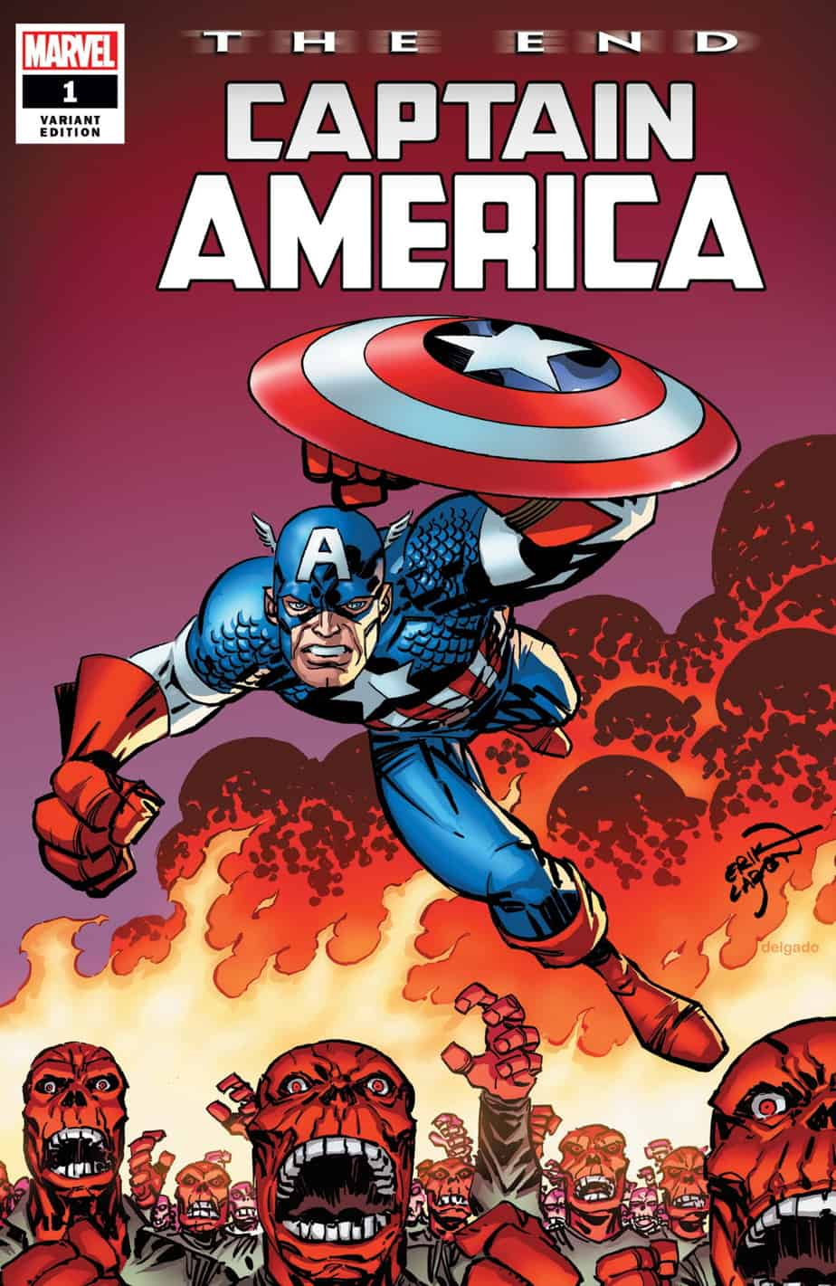 CAPTAIN AMERICA: The End #1