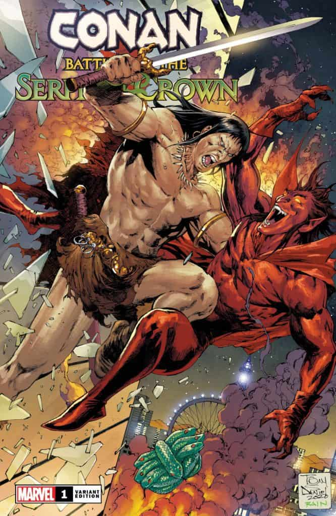 CONAN: Battle for the Serpent Crown #1