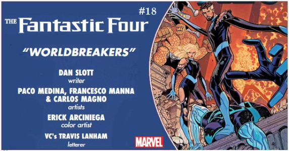 Fantastic Four #18 preview feature