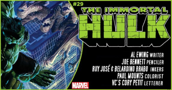 Immortal Hulk #29 preview feature