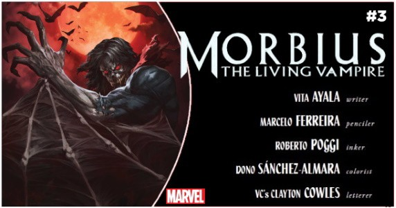 Morbius #3 preview feature