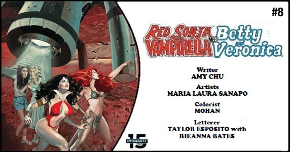 Red Sonja & Vampirella Meets Betty & Veronica #8 preview feature