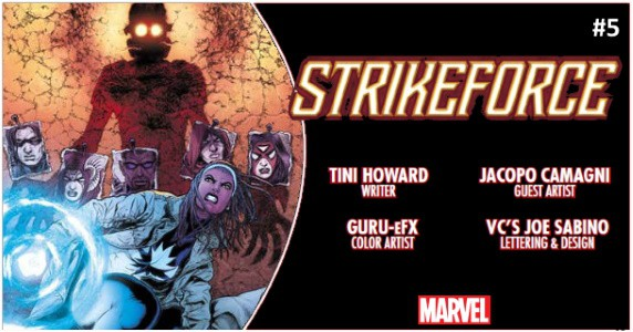 Strikeforce #5 preview feature