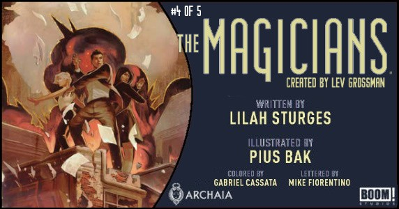 The Magicians #4 preview feature