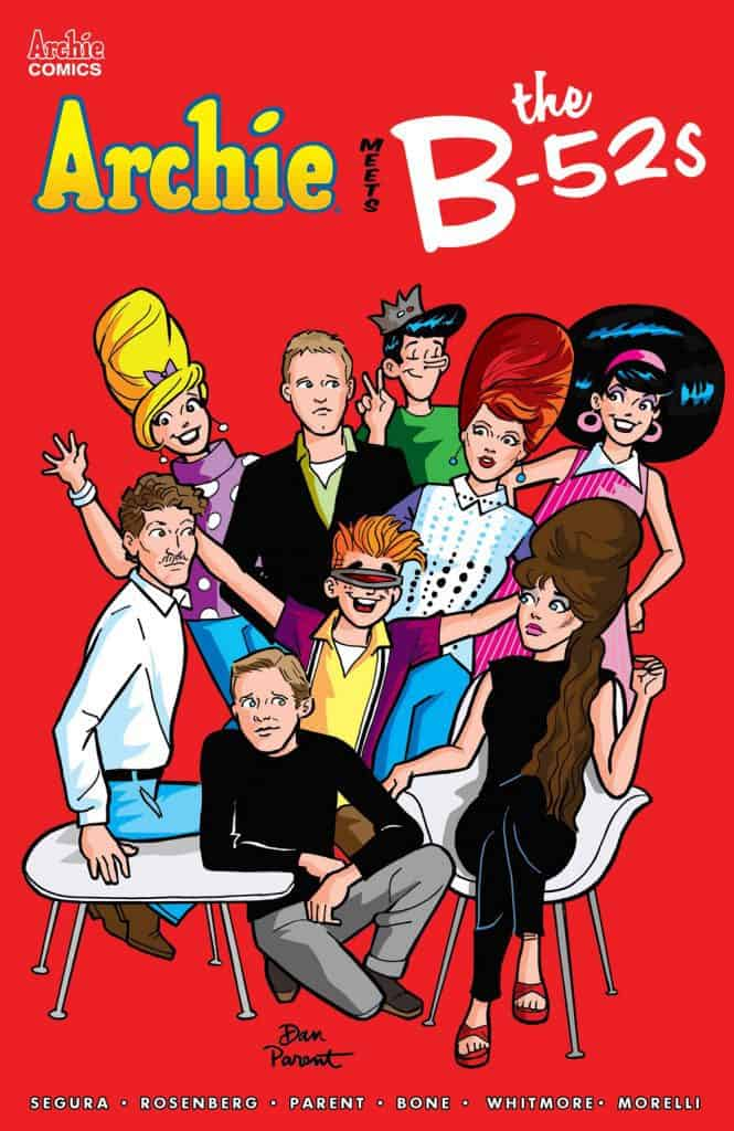 ARCHIE MEETS THE B-52s #1 - Main Cover by Dan Parent