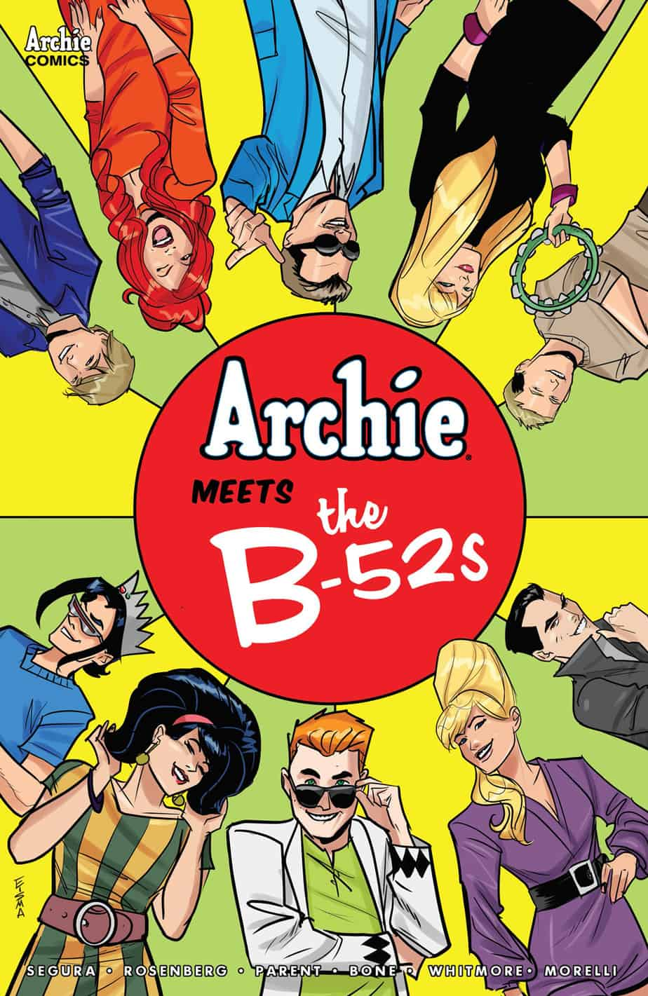 ARCHIE MEETS THE B-52s #1 - Variant Cover by Joe Eisma