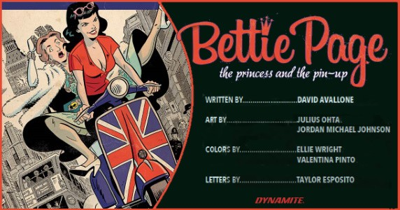 BETTIE PAGE The Princess and the Pin-Up