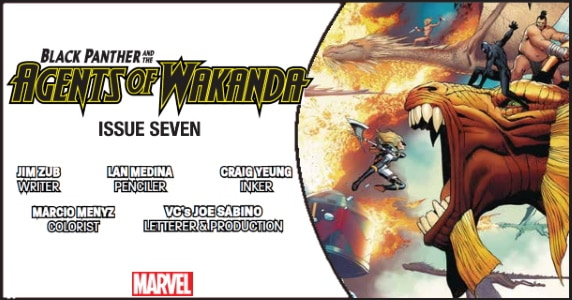 BLACK PANTHER AND THE AGENTS OF WAKANDA #7