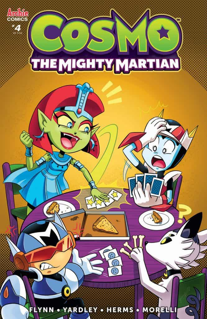 COSMO THE MIGHTY MARTIAN #4 - Variant Cover by Jen Hernandez