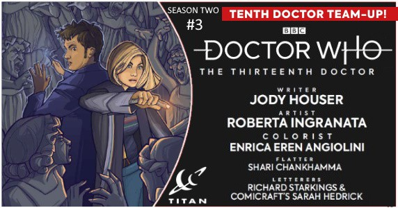 DOCTOR WHO THE THIRTEENTH DOCTOR Season Two #3 preview feature