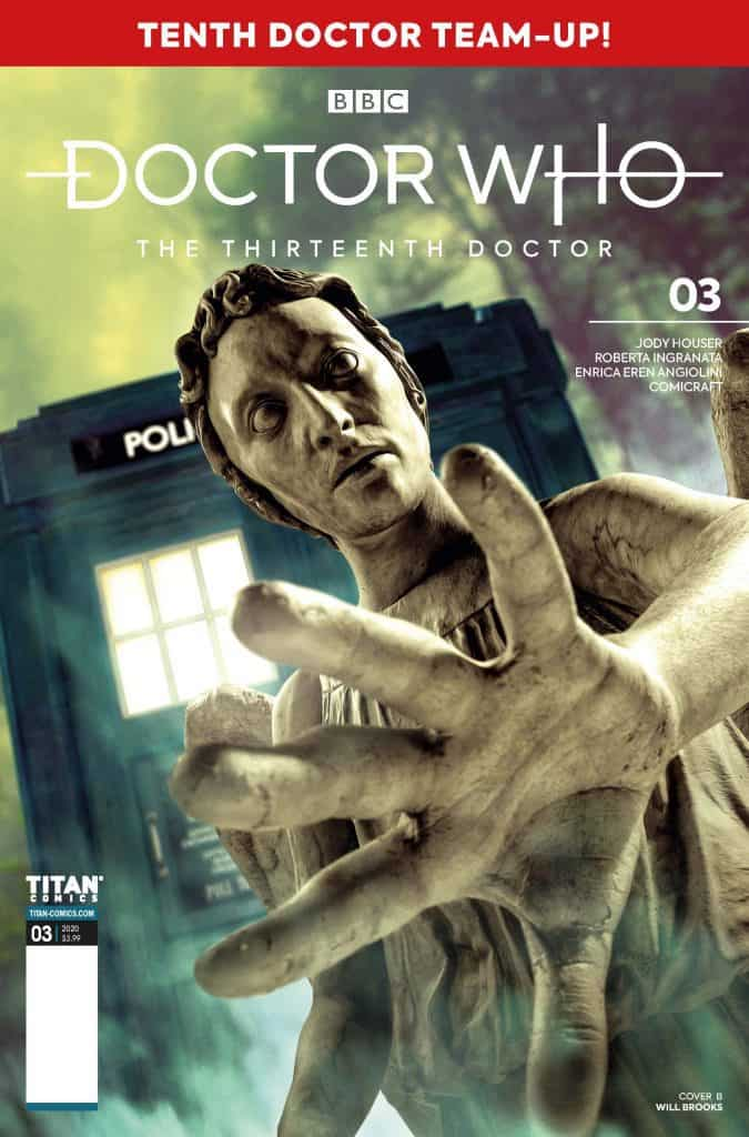 Doctor Who The Thirteenth Doctor Season Two #3 - Cover B