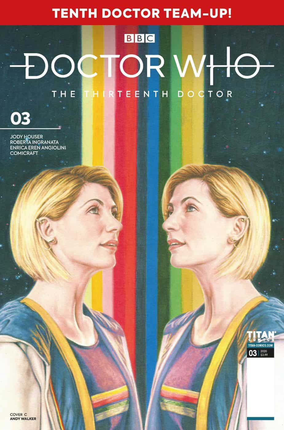 Doctor Who The Thirteenth Doctor Season Two #3 - Cover C