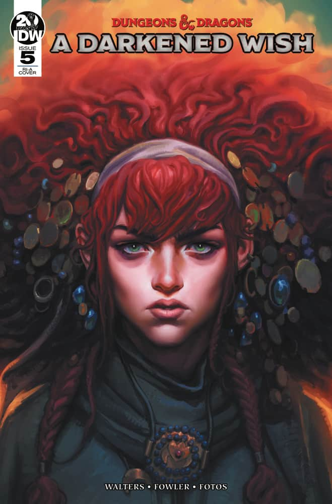 Dungeons & Dragons: A Darkened Wish #5 - Retailer Incentive Cover A