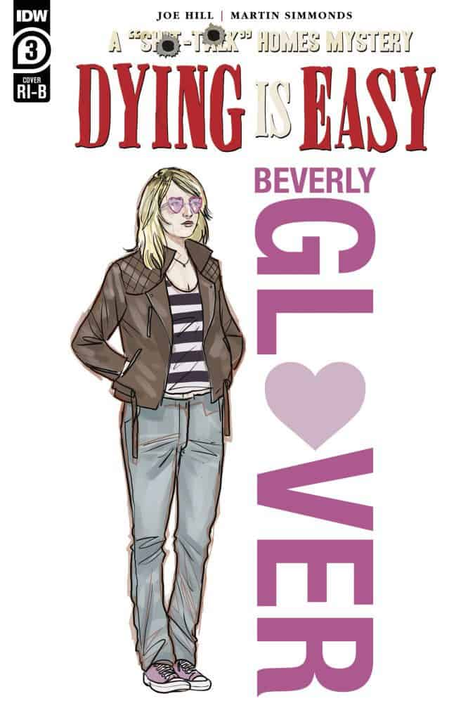 Dying is Easy #3 - Retailer Incentive Cover B