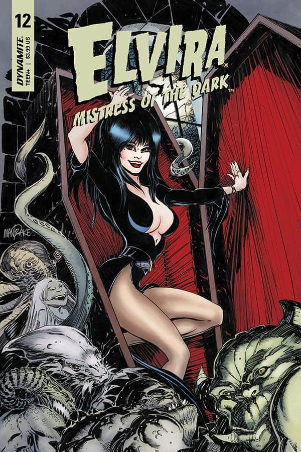 Elvira: Mistress of the Dark #12 - Cover A