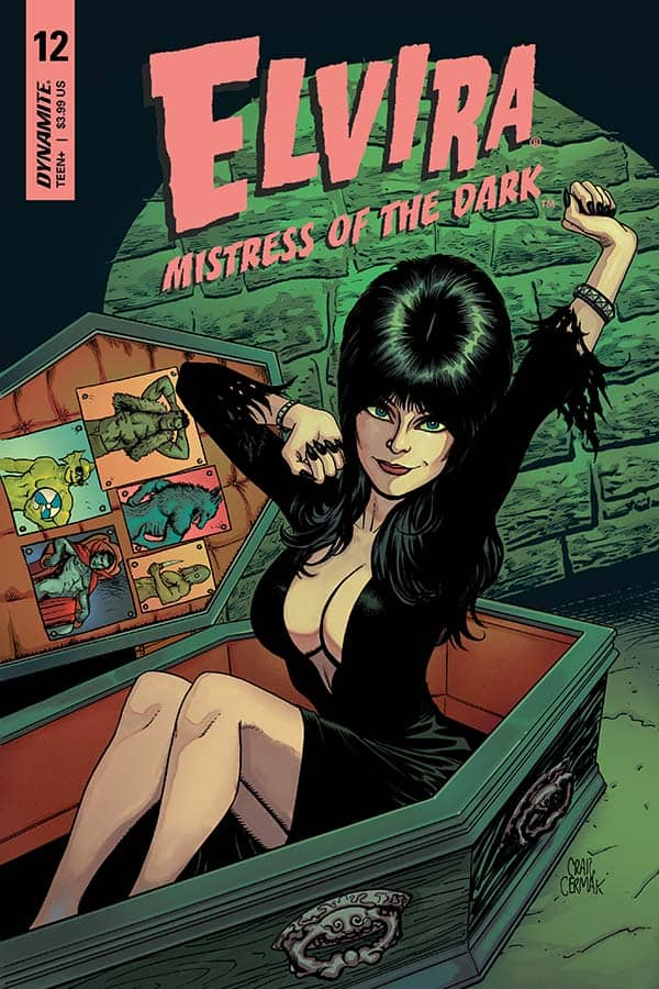 Elvira: Mistress of the Dark #12 - Cover B