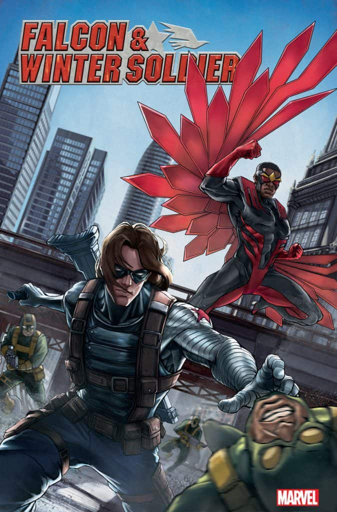 FALCON & WINTER SOLDIER #1 - Cover D