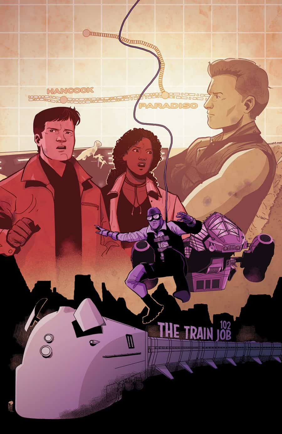 Firefly #14 - Preorder Cover