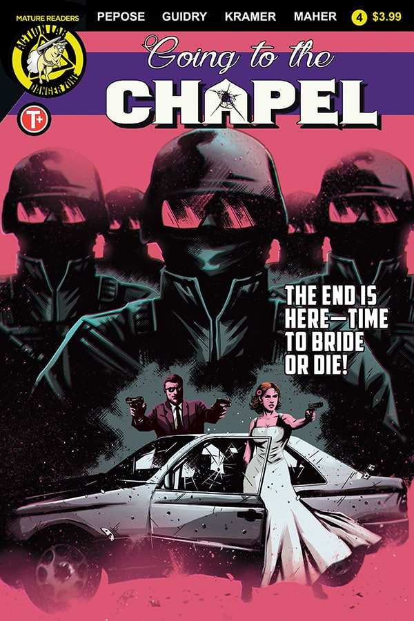 GOING TO THE CHAPEL #4 - Cover B