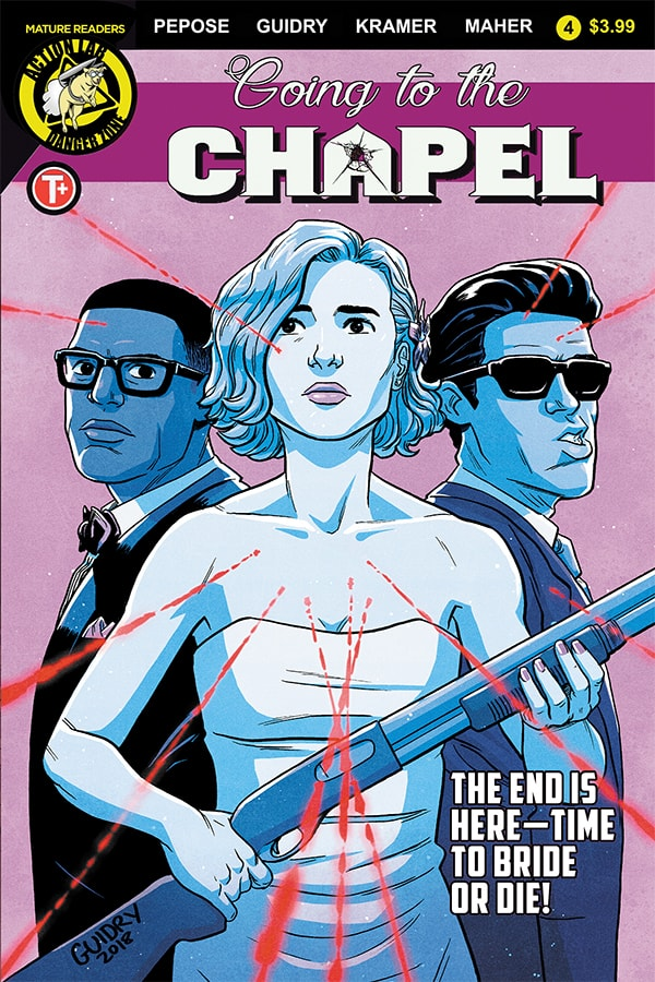 GOING TO THE CHAPEL #4 - Cover C