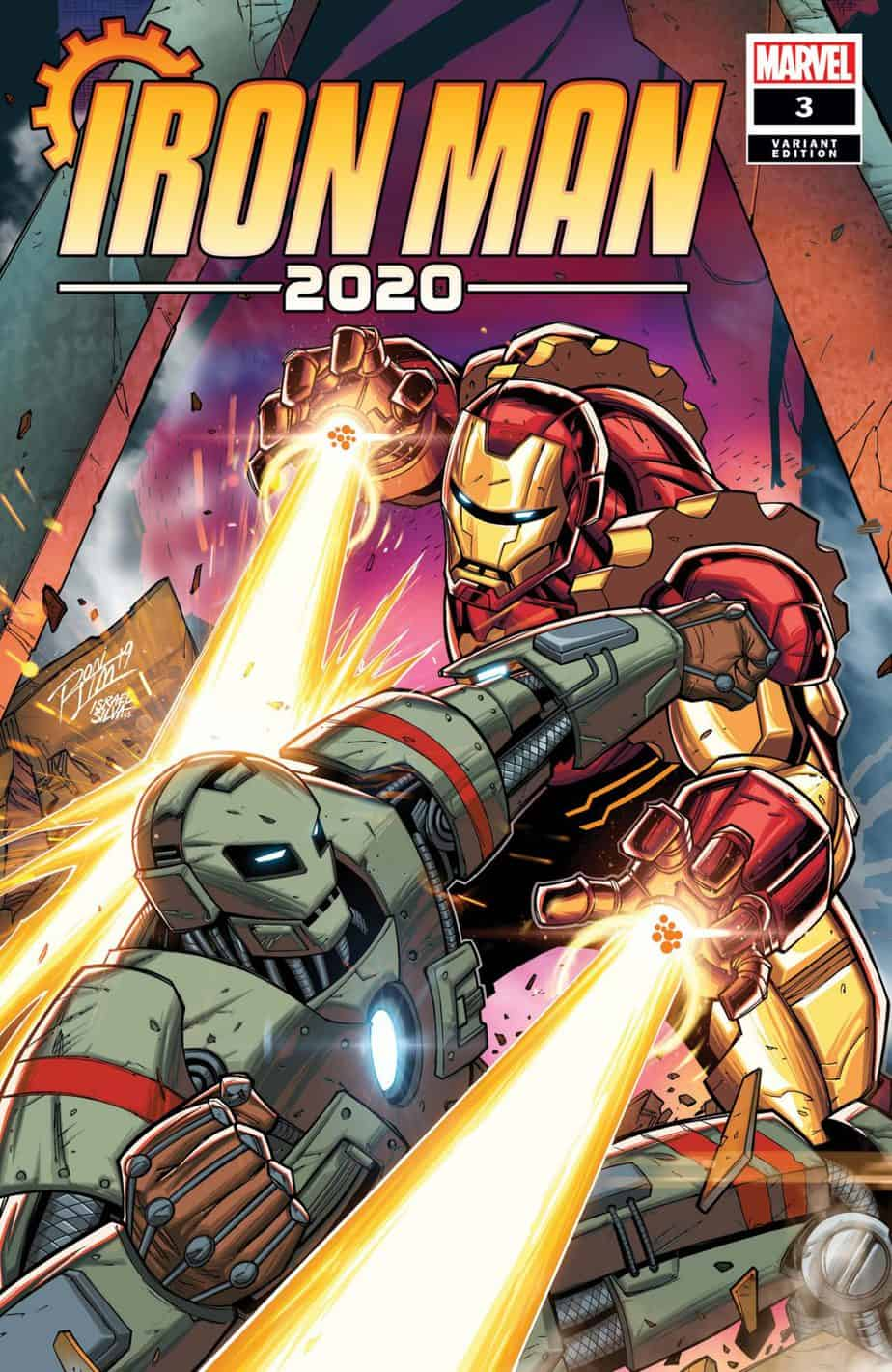 IRON MAN 2020 #3 - Cover D