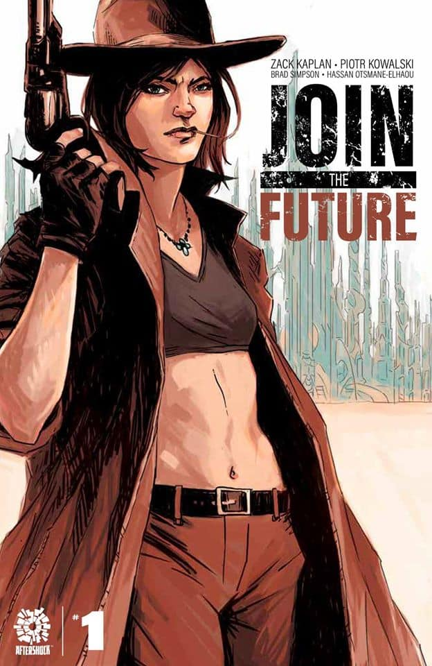 JOIN THE FUTURE #1 - Fistful of Dollars Knowhere Games & Comics exclusive variant by Natasha Alterici