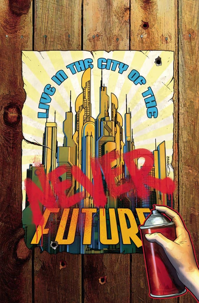 JOIN THE FUTURE #1 - Variant Cover by Brandon Peterson
