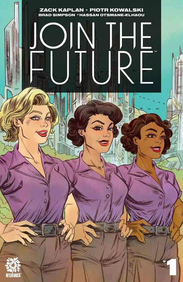 JOIN THE FUTURE #1 - variant by Soo Lee