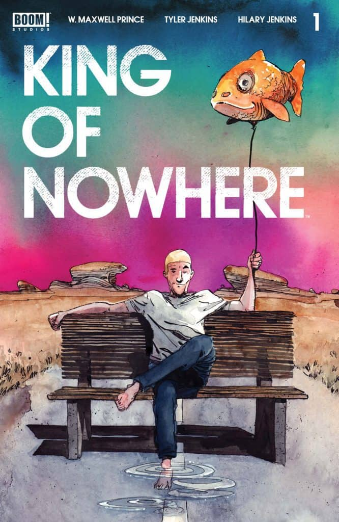 KING OF NOWHERE #1 - Cover A