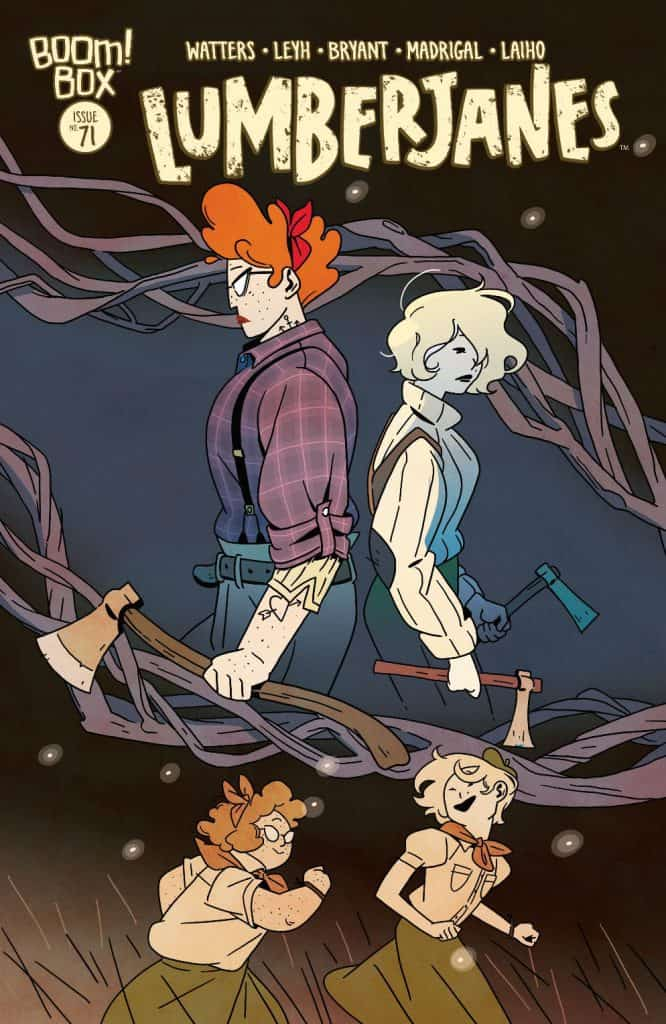 LUMBERJANES #71 - Main Cover