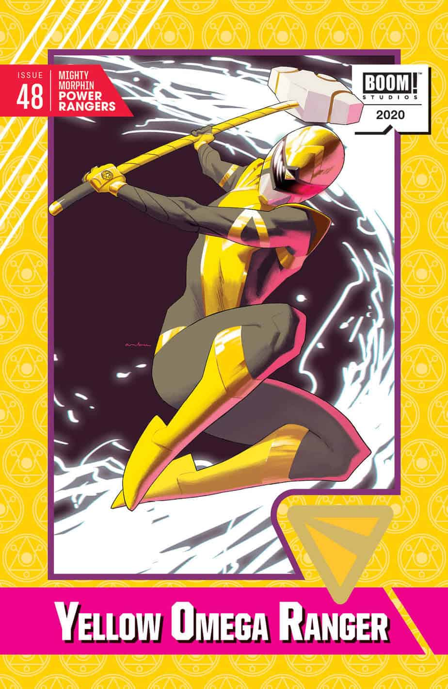 Mighty Morphin Power Rangers #48 - Trading Card Cover