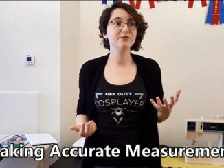 Measuring for cosplay
