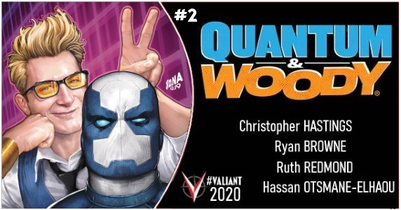 QUANTUM AND WOODY #2