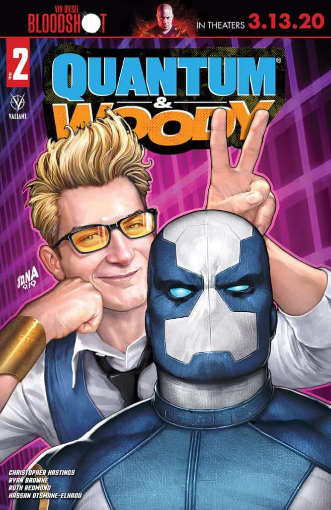 QUANTUM AND WOODY (2020) #2 - Cover A