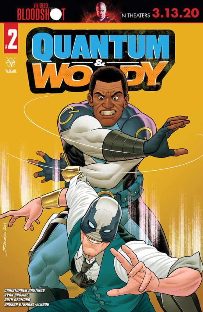 QUANTUM AND WOODY (2020) #2 - Cover B