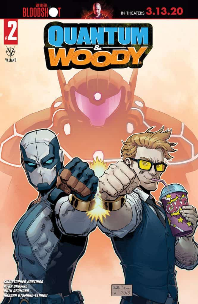 QUANTUM AND WOODY (2020) #2 - Cover C