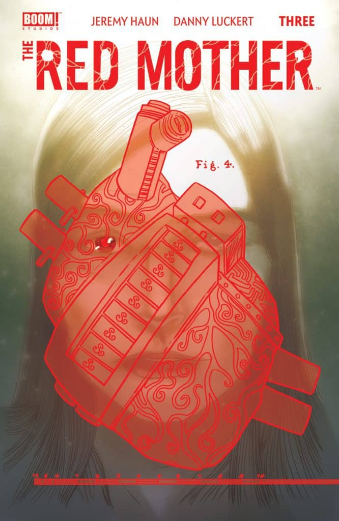 THE RED MOTHER #3 - Red Variant