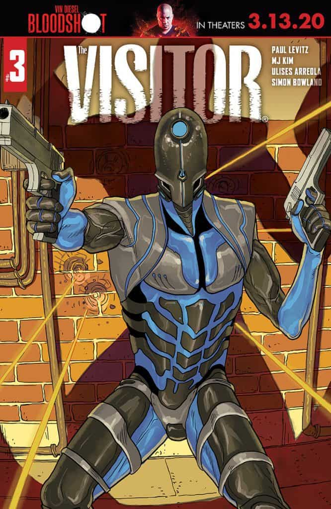 THE VISITOR #3 - Cover A