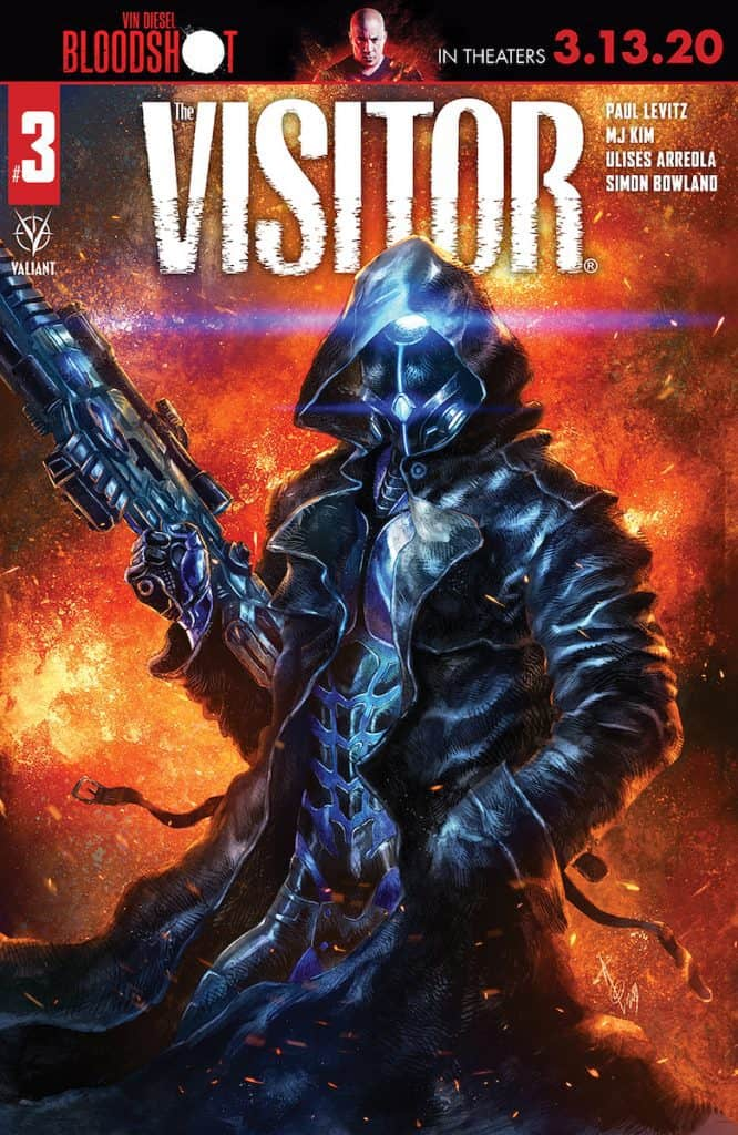 THE VISITOR #3 - Cover B