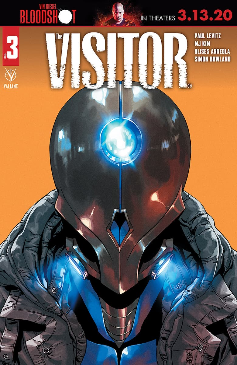 THE VISITOR #3 - Cover C